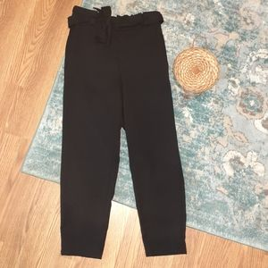 BOGO FREE❣Black paper bag pants